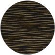 rug #187101 | round mid-brown stripes rug