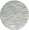 rug #187105 | round blue-green natural rug