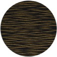 rug #187197 | round black natural rug