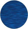 rug #187249 | round blue rug