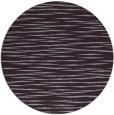 rug #187317   round purple stripes rug
