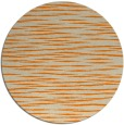 rug #187397 | round orange natural rug