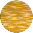 rug #187417 | round light-orange stripes rug
