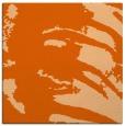 rug #188045 | square red-orange animal rug