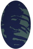 rug #188169 | oval blue popular rug