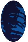 rug #188306   oval abstract rug