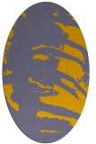 rug #188452 | oval abstract rug