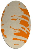 rug #188453 | oval abstract rug