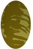 rug #188457   oval light-green animal rug