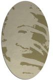 rug #188471   oval abstract rug