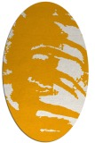 rug #188473 | oval light-orange abstract rug
