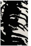 rug #188493 |  black abstract rug