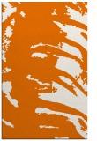 rug #188681 |  orange abstract rug