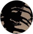 rug #188853 | round black natural rug