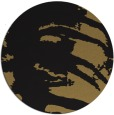 rug #188861 | round black abstract rug