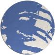 rug #188881 | round blue animal rug