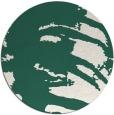rug #188973 | round green animal rug