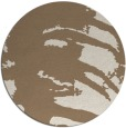 rug #188993 | round beige animal rug