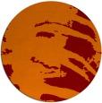 rug #189029   round orange animal rug