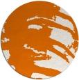rug #189033 | round orange rug