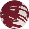 rug #189053 | round pink abstract rug