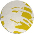 rug #189117 | round white animal rug
