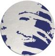 rug #189121 | round blue animal rug