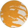 rug #189189 | round light-orange animal rug