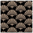 rug #191317 | square black graphic rug
