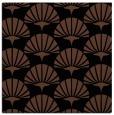 rug #191321   square black graphic rug