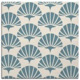 rug #191329 | square white graphic rug