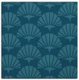 rug #191353 | square blue-green rug