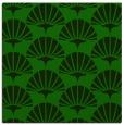 rug #191373 | square green retro rug