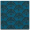 rug #191385 | square blue retro rug