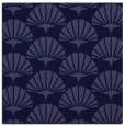 rug #191389 | square blue-violet retro rug
