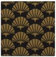 rug #191421   square black retro rug