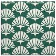 rug #191437   square green retro rug