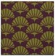 rug #191533 | square purple graphic rug