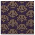 rug #191537 | square mid-brown retro rug