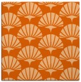 rug #191565 | square red-orange retro rug