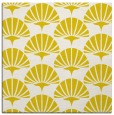 rug #191581 | square white graphic rug