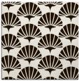 rug #191601 | square brown retro rug