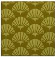 rug #191625 | square light-green retro rug