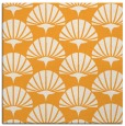 rug #191653 | square light-orange graphic rug