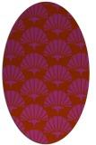 rug #191911 | oval graphic rug