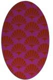 rug #191912   oval popular rug