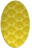 rug #191935 | oval retro rug