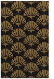 rug #192125 |  mid-brown retro rug