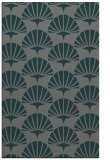 rug #192137    green graphic rug