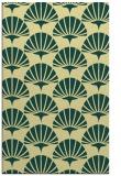 rug #192213 |  yellow retro rug